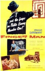 Finger Man 1955 DVD - Frank Lovejoy / Forrest Tucker